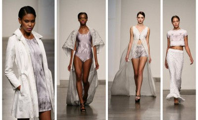 Tess Johnson SpringSummer 2014 Runway at Nolcha Fashion Week New York Presented by RUSK