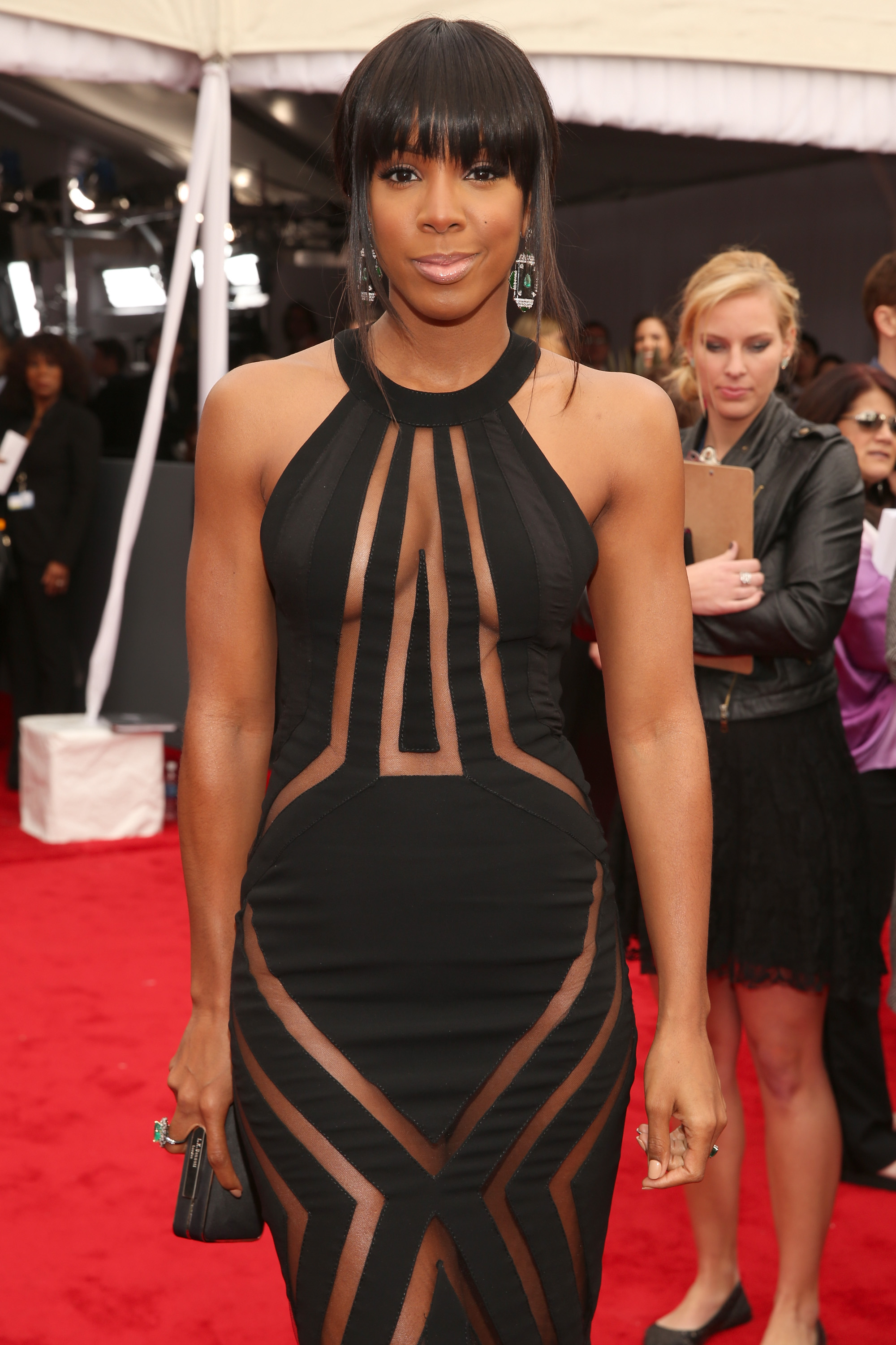 LOS ANGELES, CA - FEBRUARY 10:  Singer Kelly Rowland attends the 55th Annual GRAMMY Awards at STAPLES Center on February 10, 2013 in Los Angeles, California.  (Photo by Christopher Polk/Getty Images for NARAS)