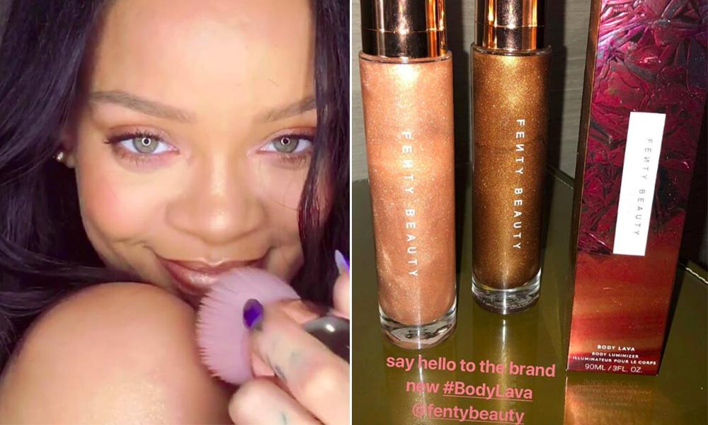 Body lava Rihanna
