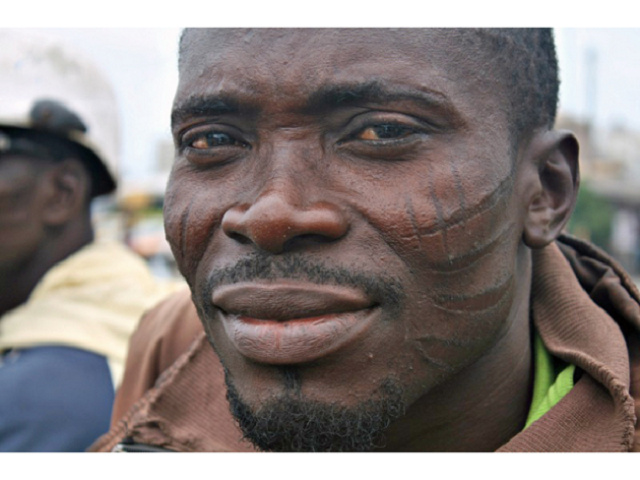 tatouage HommeNigerian