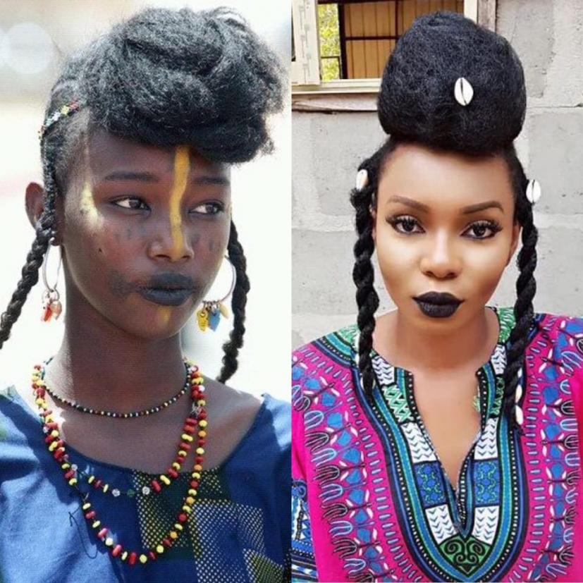 Les pharaons, les scribes et les femmes égyptiennes arboraient une  chevelure coiffée en tresses souvent ornementées de fils d\u0027or et d\u0027autres  raffinements.